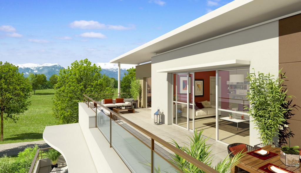 Acheter un appartement t4 en attique a prevessin projets for Acheter un appartement