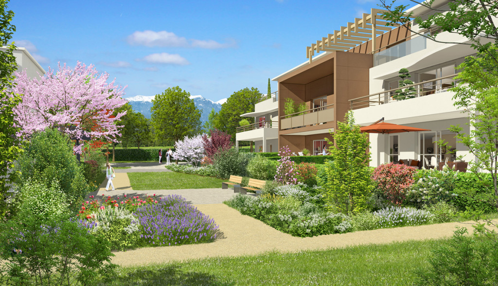 Acheter un appartement t4 en attique a prevessin projets for Acheter logement
